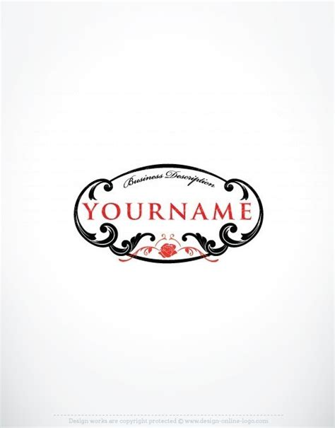 design a crest logo exclusive design crest rose online logo free business card