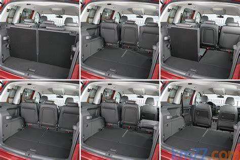 Vw Touran Interior Dimensions by Volkswagen Touran