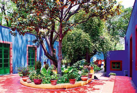 House Design Inside Garden Die Wohngalerie Frida Kahlo Und Ihre Casa Azul