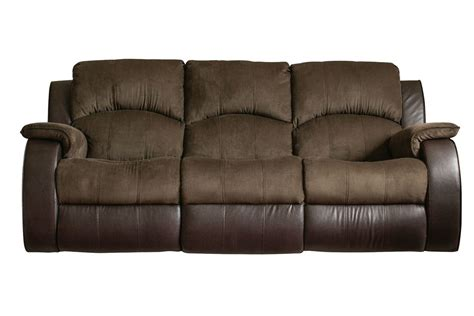 microfiber reclining sofa with console lorenzo microfiber reclining sofa at gardner white