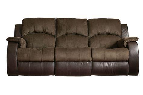 Lorenzo Microfiber Reclining Sofa at Gardner White