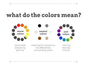 meaning of different colors for web design