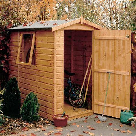 7 X 5 Garden Sheds by Shire Shiplap Apex Garden Shed 7 X 5 2 05m X 1 62m