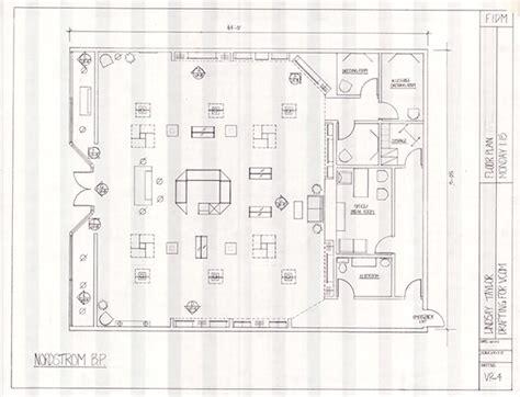 nordstrom floor plan retail layout on behance