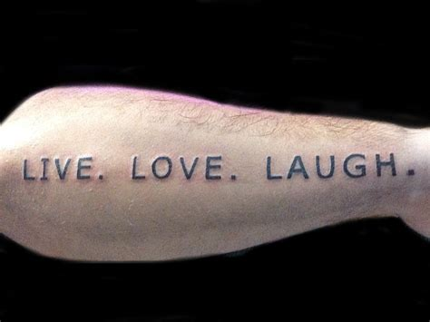 live laugh love tattoo live laugh tattoos design tattoomagz