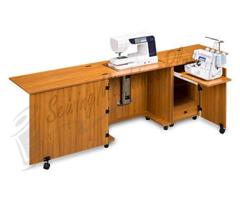 Sylvia Sewing Cabinet by Sylvia Design Model 1050 Sewing Serger Cabinet