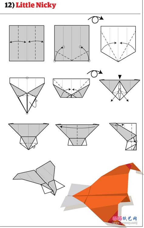 Easy Paper Planes To Make - free coloring pages origami airplane jet step by easy