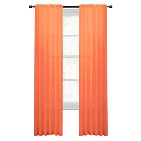 extra wide curtain rod window elements diamond sheer orange rod pocket extra wide