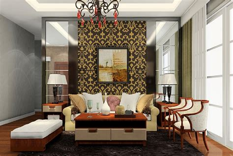 living room sofa back wall design image 3d house