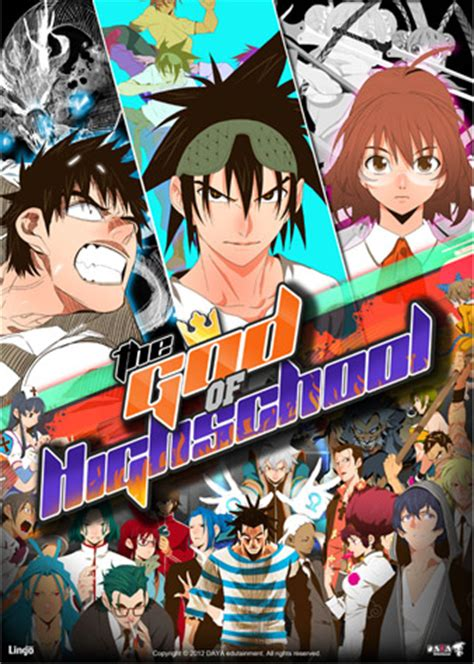 anime rewind indonesia the god of high school korean webtoons wiki fandom
