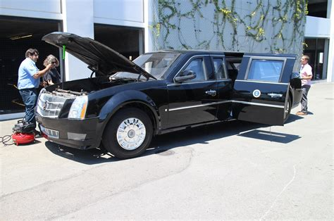 The Beast Presidential Limo by Cadillac Presidential Limo The Beast White House