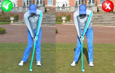 scooping golf swing stop scooping and get more distance me and my golf