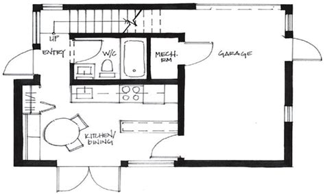 500 sq ft studio floor plans 500 sq ft tiny house floor plans 500 sq ft cottage plans