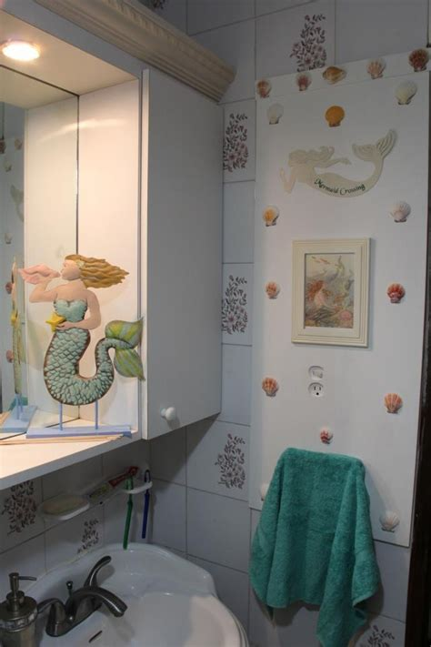 36 Best Images About Mermaid Bathroom Ideas On Pinterest Mermaid Bathroom Ideas