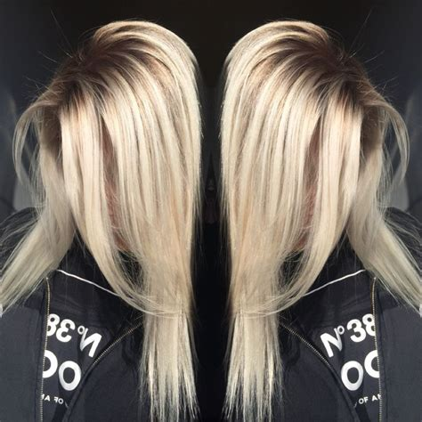 perfect shadow root on blonde hair 1000 ideas about root color on pinterest brown hair