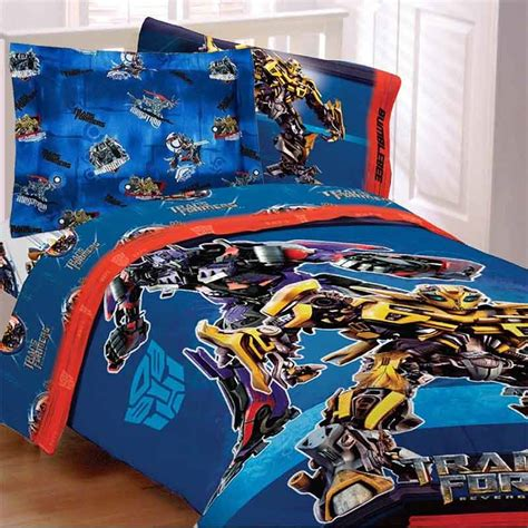 transformer comforter transformers comforter set full optimus prime shams
