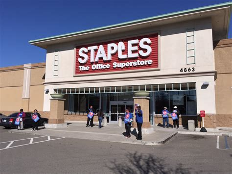 Antioch Post Office by Postal Workers Stage On Going Protest At Antioch Staples