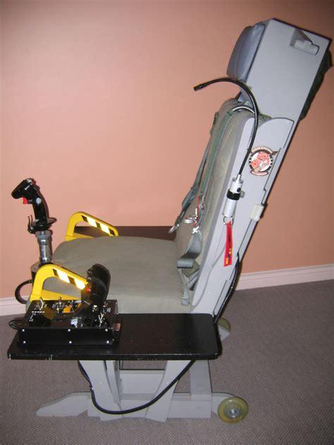 Flight Sim Chair by Tm Warthog Glider Rocker Sim Seat Mod Simhq Forums
