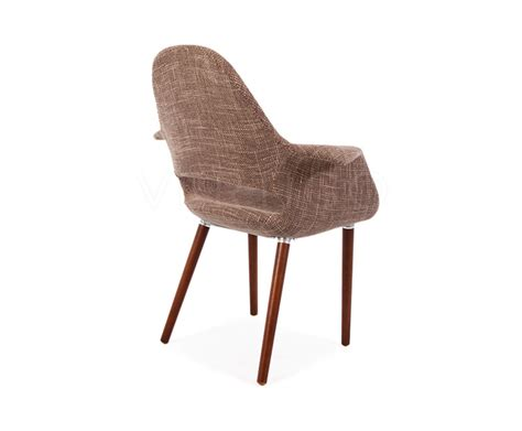 Fabric Arm Chair Design Ideas Organic Fabric Arm Chair Inspired By Designs Of Charles Eames Vertigo Interiors