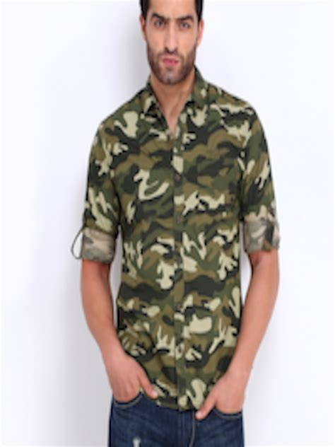 buy  indian garage  men military green beige