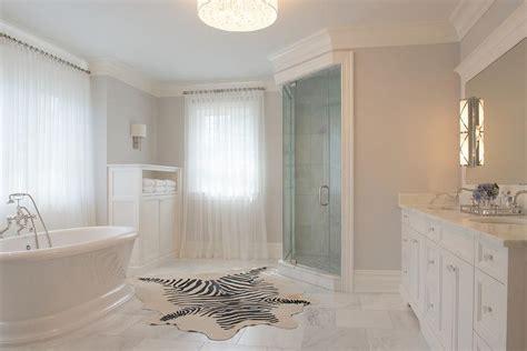 bathroom with corner shower transitional bathroom benjamin stonington gray
