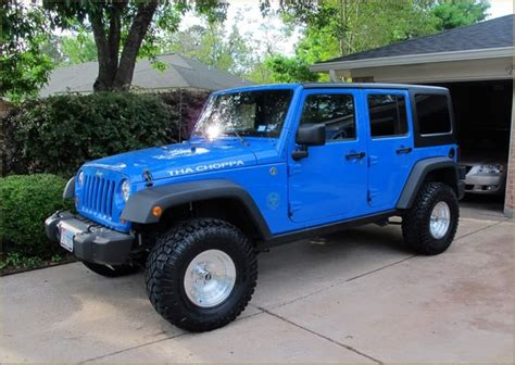 Powder Blue Jeep Wrangler Blue Jeep Different Wheels Tho