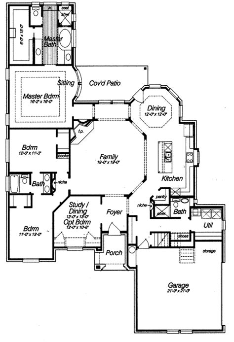 french dream 8149 4 bedrooms and 3 baths the house country style house plan 4 beds 3 baths 2366 sq ft plan