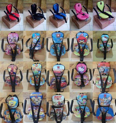 Kursi Anak Karakter kursi boncengan anak karakter dengan sit belt pondok ibu
