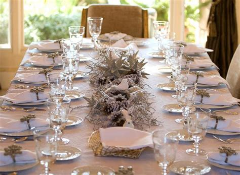 table decor ideas how to decorate a table for christmas easyday