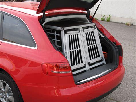 Hundebox Für Audi A4 Avant by N23 Hundetransportbox Doppelbox Aluminium Transportbox
