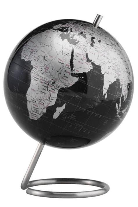 modern spectrum metallic desktop world globe