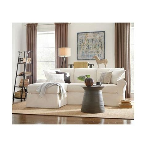 slipcover sectional sofa with chaise chaise design