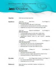 Resume Template On Microsoft Word 2010 by Best Photos Of Resume Template Word 2010 Resume Templates Microsoft Word 2007