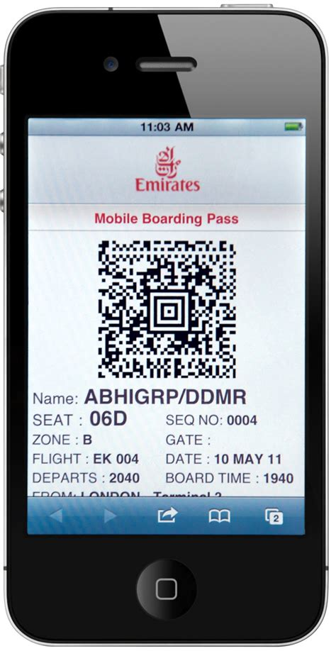 emirates boarding pass emirates launches mobile boarding pass service in east