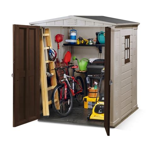 Keter Plastic Shed 6x6 by Keter Keter Factor Shed 6x6 Keter From Garden Store