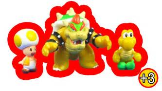 super mario bros micro land figures browser koopa troops toad toy review