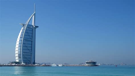 sailboat dubai free images beach sea wind building ship vehicle
