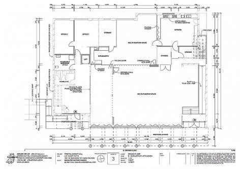 church fellowship hall floor plans
