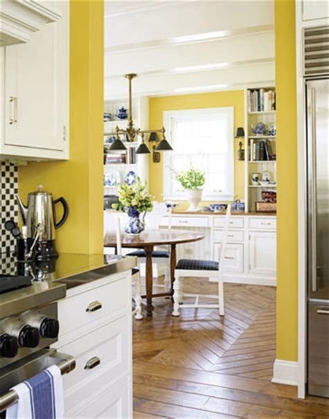 d 233 co cuisine jaune et blanc
