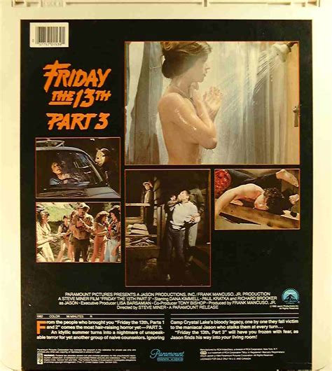 dvd format name friday the 13th part 3 37757015391 u side 2 ced