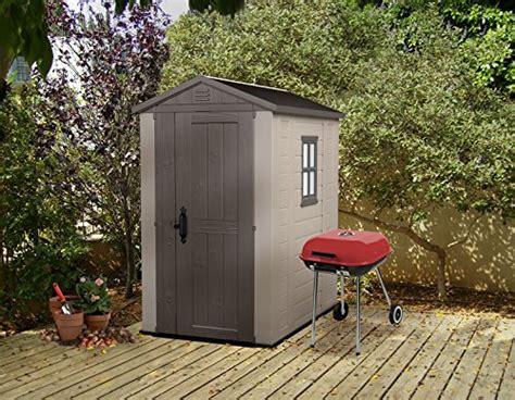 keter factor large    ft resin outdoor backyard garden