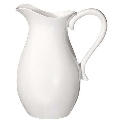 White Pitcher Vase by Porcelain Pitcher White Threshold Target