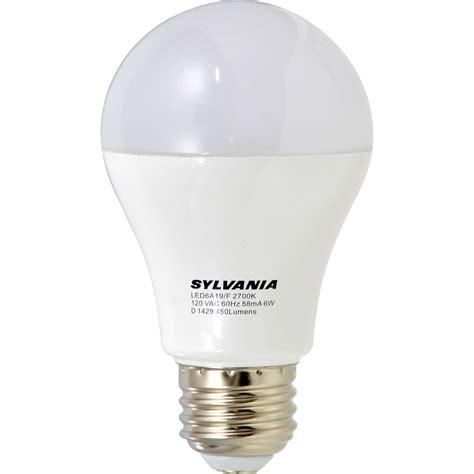 sylvania led light bulbs sylvania a19 40w e26 non dimmable white led light