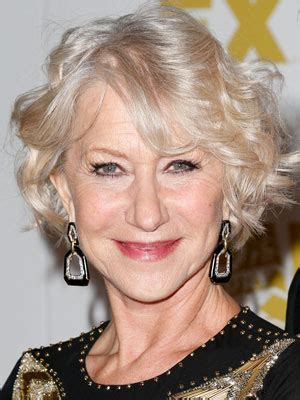 how to care for older thinning silver hair helen mirren thinning hair women celebrity hair styles