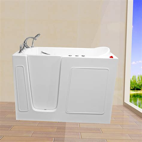 Walking Bathtub by Walkin Tub 30 Wx54 Lx40 H Cwb30s 0 00