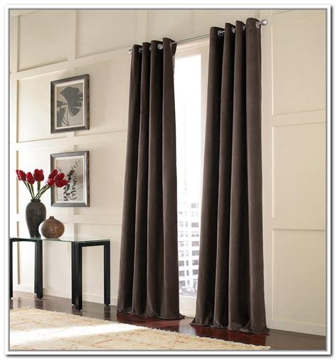 tension rod for curtains window treatment with tension rod curtain homesfeed