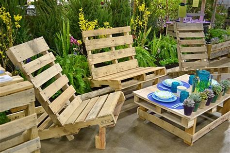 Pallet Wood Outdoor Furniture Plans Pallet Wood Projects Pallet Patio Furniture