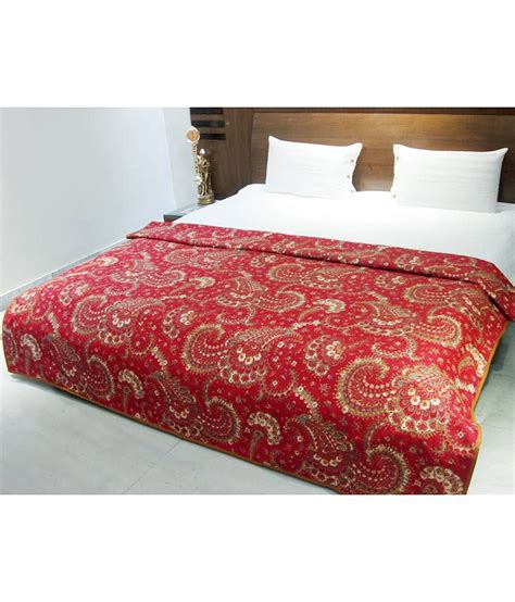 red paisley bedding aurave red paisley cotton comforter buy aurave red