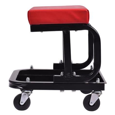 Rolling Work Stool Seat by Creeper Seat Stool Mechanics Rolling Work Shop Tool Garage