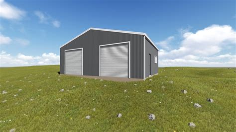 building  shed  sloping land action sheds